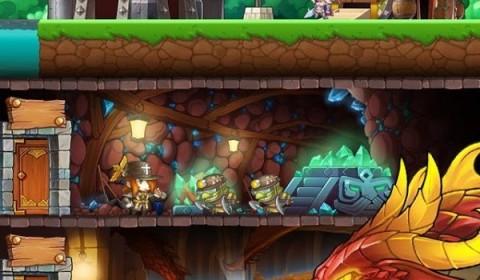 [รีวิวเกมมือถือ]มาสร้างแคลนฮีโร่ผจญภัยดินแดนลึกลับใน Dungeon Crash!