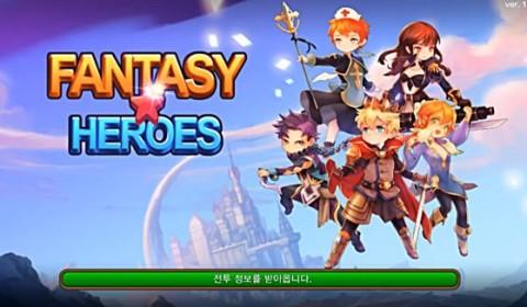 LINE Fantasy Heroes เกมใหม่จาก line JP ลองยัง?!