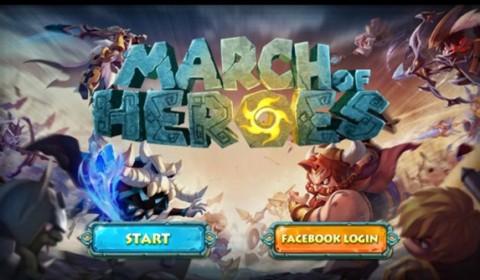 March Of Heros โอ้โห!! แบทเทิ้ลทีมสุดมันส์!!