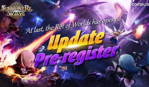 Summoners War: Rift of Worlds เปิดลงทะเบียนล่วงหน้ารับอัพเดทใหม่