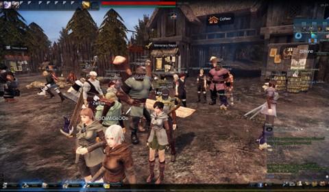 Vindictus เกมส์ออนไลน์ใหม่ระดับบอส CBT วันแรกคนแน่นเอียด