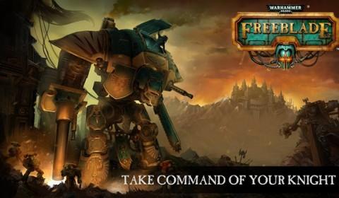 สงครามมหาจักรกล Warhammer 40,000: Freeblade  มาพร้อมกราฟิกสุดอลังและระบบบังคับ 3D Touching