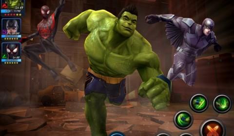 MARVEL Future Fight อัพเดทสุดยอดฮีโร่จอมพลัง Hulk และชุดสกิลใหม่ 6 ดาว