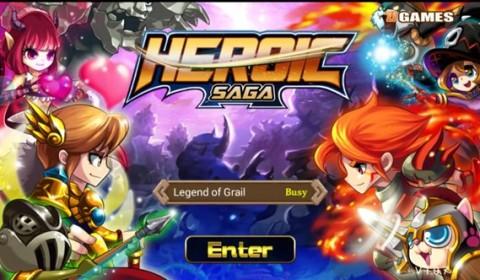 Heroic Saga สุดยอดเกมน่ารักต้อนรับปี แบ๊วลูกกวาดแต่โหดนะจ้ะ!!!