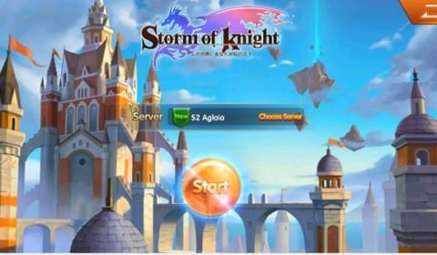 Storm of Knight เกมใหม่มาแรงจากญี่ปุ่นที่ห้ามพลาด