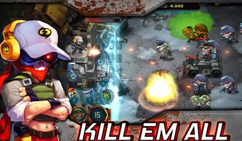 ยิงซอมบี้กันให้สนั่นเลื่อนลั่นกับเกมแนว Shooter-Defenses Tower ใน ผ่าฝูงนรกซอมบี้ Zombie Crop!