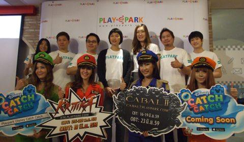 PLAYPARK เปิดรัว 3 เกมส์สุดปัง มันส์จัดเต็ม Kritika Online, Cabal 2 และ Disney Catch Catch