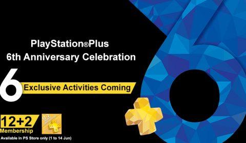 บิ๊กโบนัส! พลัสเซอไพรซ์! กับ PlayStation Plus 6th Anniversary ฉลอง 6 ปีแบบซุบเปอร์พลัส!!