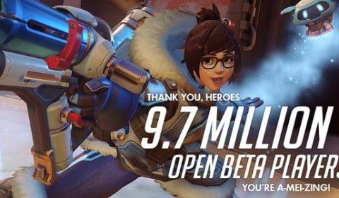 Overwatch ทุบสถิติ หลังเปิดตัว Open Beta มีจำนวนผู้เข้าร่วมมากถึง 9.7 ล้านคน!