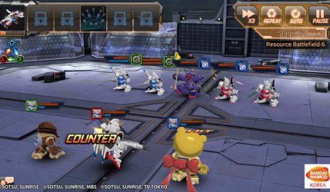 อัพเดทแพทช์ครั้งใหญ่ SD Gundam Battle Station เปิดเซิฟเวอร์ 2 เพิ่มสนามรบสุดโหดและระบบอัพ MS ขั้นเทพ Max level 40 พร้อมลุยแล้ววันนี้
