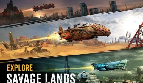 [PC/Apple/Android] มาอัพเกรดยานยิงกันให้สะใจใน SandStome : Pirate War