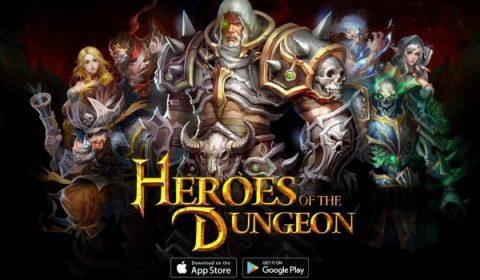 Heroes of the Dungeon เกมมือถือ Action RPG เปิดตัวอย่างเป็นทางการแล้ววันนี้