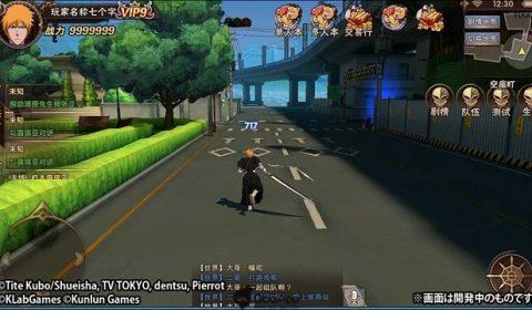 แฟนๆอนิเมะเตรียมพบกับเกม Bleach Mobile เกมแนว Action MMORPG บนมือถือ เร็วๆนี้