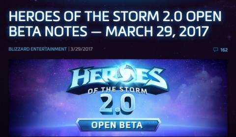 Heroes of the Storm เตรียมอัพเดทครั้งใหญ่ 2.0 ฟีเจอร์คล้าย Overwatch เปิด Open Beta แล้ววันนี้