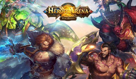 Heroes Arena เกม MOBA บนมือถือสุดมันส์ เตรียมเปิดให้แฟนๆ iOS ได้เล่นกัน 14 เมษายนนี้