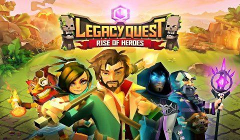 [รีวิวเกมมือถือ] เกมแนววางแผนสุดเฟี้ยว Legacy Quest Rise of Heroes