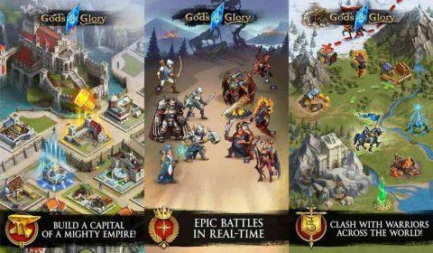 [Android-iOS]ประชั้นความเป็นหนึ่งกับสงครามแห่งเกียรติยศใน Gods & Glory