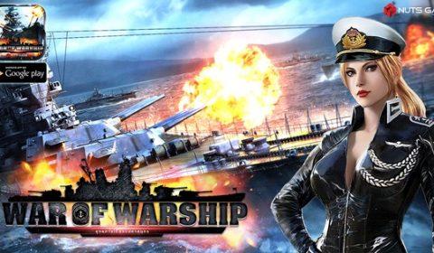 สงครามแห่งน่านน้ำ War of Warship TH เปิดให้เล่นพร้อมกัน 4 ประเทศแล้ววันนี้