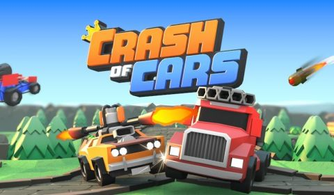 [รีวิวเกมมือถือ]ขับให้มัน ยิงกันให้ตายกับ Crash of Cars