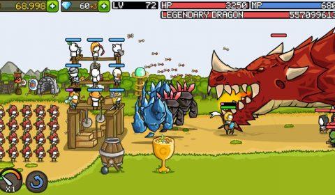 [รีวิวเกมน่าเล่น]เกมกันป้อมที่น่าเล่นที่สุด! Grow Castle