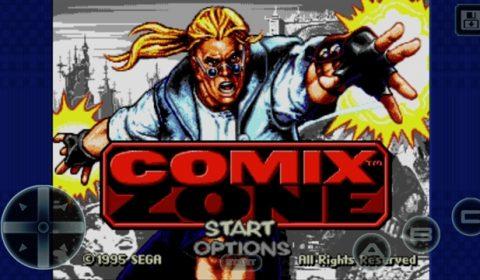 (รีวิวเกมมือถือน่าเล่น) Comix Zone : เกมสไตล์คอมมิคฝรั่งยุค 90 ของ SEGA เล่นฟรีแล้ว!