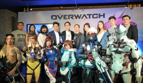 Blizzard Entertainment จับมือ MOL แถลงข่าวระบบใหม่ Blizzard Cafe ให้เล่น Overwatch ได้ฟรี กล่องไม่มี keyไม่ต้อง