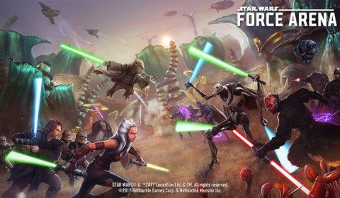 Star Wars™: Force Arena อัพเดทจัดหนัก เพิ่ม 16 ตัวละครดังขวัญใจแฟนๆ