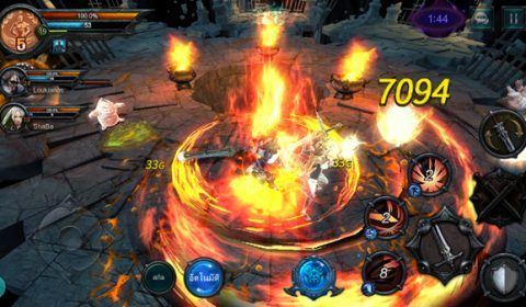 พาตะลุย Triumph Over Pain เกมส์มือถือใหม่ตัวเด็ดของสาวก Action MMORPG สายฮาร์ดคอร์