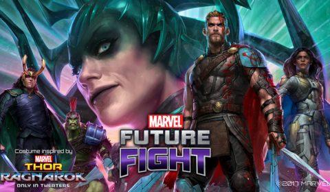 พบกับเหล่าตัวละครตระกูล Marvel จาก Thor: Ragnarok ได้แล้วใน MARVEL Future Fight