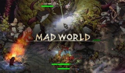 ด่วน! Mad World เกมบนเว็บ แนว MMORPG สร้างจาก HTML5 เปิดให้ทดสอบช่วงแรกถึง 1 พฤศจิกายน 2017 นี้