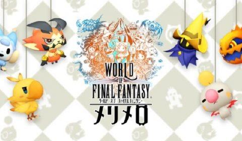 Square Enix ส่งเกมมือถือ World of Final Fantasy Meli Melo เตรียมเลี้ยงเหล่าเพื่อนสัตว์เลี้ยงกันได้เลย