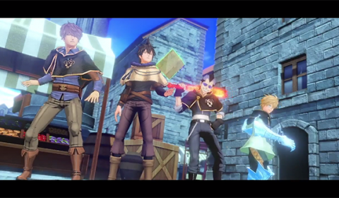 Black Clover Quartet Knights เกมยิงใหม่ล่าสุดจาก Bandai Namco เตรียมเปิดตัวบน Steam และ PlayStation 4 ในปี 2018