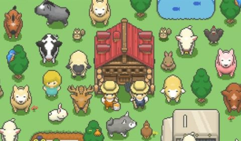 (รีวิวเกมมือถือ) Tiny Pixel Farm มาทำฟาร์มปศุสัตว์ในมือถือของคุณกันเถอะ