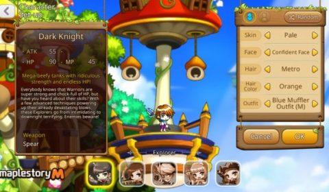 เกมมือถือ MapleStory M เปิดทดสอบ Beta Test ทั่วโลกแล้ววันนี้ (ดาวน์โหลด Android)
