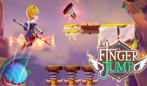 (รีวิวเกมมือถือ) Finger Jump เกมกระโดดที่เล่นง่ายๆ แต่สนุกเหลือเชื่อ