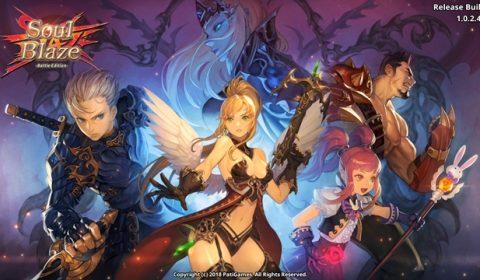 (รีวิวเกมมือถือ) SoulBlaze : Battle Edition ศึกตะลุยดันเจี้ยนมุมมองด้านข้าง