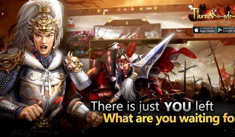 Three Kingdoms: Infinity Wars เกมกลยุทธ์สามก๊กมาใหม่ เปิดให้เกมเมอร์ชาวไทยเล่นแล้ววันนี้