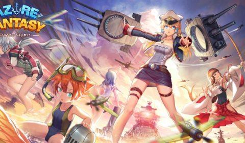 (รีวิวเกมมือถือ) Azure Fantasy สงครามเรือรบสาวน้อยสุดโมเอะ