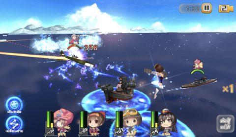 เปิดสมรภูมิเหนือน่านน้ำ Azure Fantasy–ตำนานเรือรบสาว สาวน้อยเรือรบพร้อมเปิดให้บริการในประเทศไทยแล้วทั้ง iOS และ Android
