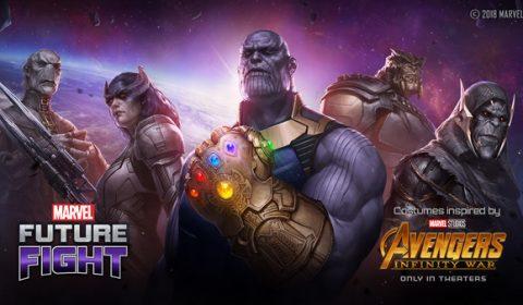 MARVEL Future Fight ประเดิมศึกใหญ่ Infinity War อัพเดตแล้ววันนี้!