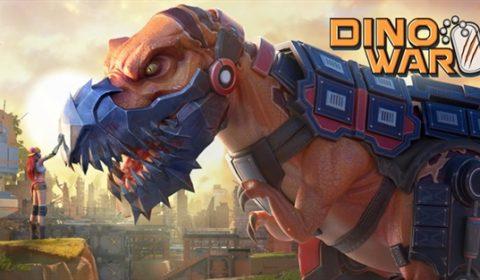 (รีวิวเกมมือถือ) Dino War ศึกเกมสร้างฐานรบสไตล์ไดโนเสาร์ลํ้ายุค