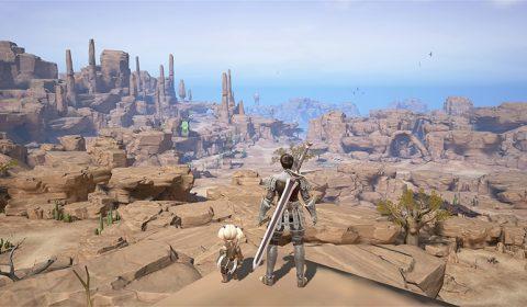 ภาพจากเกม Final Fantasy XI Mobile เกมมือถือใหม่รูปแบบ mobile MMORPG อยู่ในระหว่างการพัฒนา