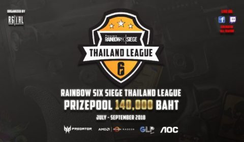 Rainbow Six Siege Thailand League เปิดตัวยิ่งใหญ่ชิงรางวัลมูลค่า 140,000 บาท พร้อมยิงสด 120 แมทช์ตลอดฤดูกาล