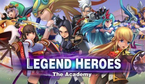 (รีวิวเกมมือถือ) Legend Heroes: The Academy มหาศึกโรงเรียนเทพ กับเกมภาพสุดคิ้วท์!