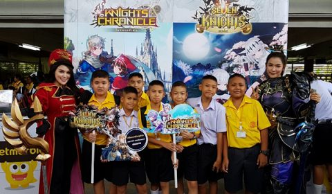 Netmarble จับมือ BEC-Tero Music ยกทัพบุก 10 โรงเรียนเดินสายมอบความสนุกทั่วพื้นที่ในงาน Music Mania School Tour Concert 2018