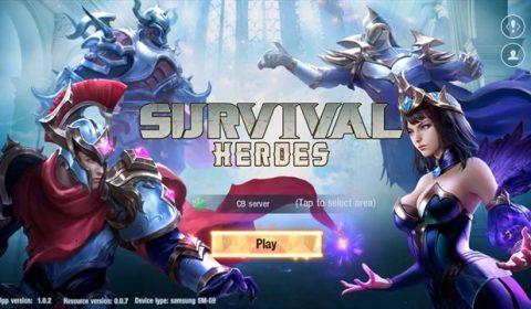 (รีวิวเกมมือถือ) Survival Heroe เกม Battle royale ในแบบฉบับของ MOBA!