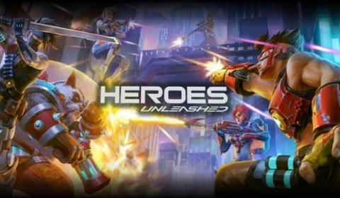 Heroes Unleashed เกมมือถือ MOBA ผสม FPS แนวใหม่ เปิด CBT พร้อมกันทั่วเอเชียแล้ววันนี้!!