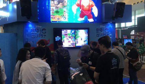 goGame จับมือ The Walt Disney Company เผยโฉมเกมมือถือใหม่ Disney Epic Quest เป็นครั้งแรก พร้อมเปิดให้ทดสอบในงาน TGS 2018