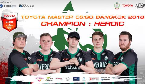 สรุปผลการแข่งขัน TOYOTA MASTER CS:GO ครั้งแรกของประเทศไทย ความยิ่งใหญ่ระดับเอเชีย!