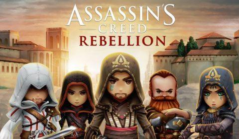 (รีวิวเกมมือถือ) ASSASSIN'S CREED REBELLION รวมพลเหล่านักฆ่าในเกมมือถือ